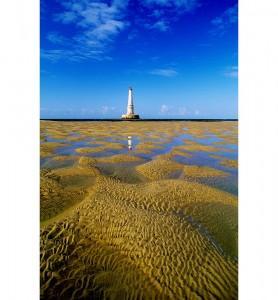 Tableau banc de sable au Phare de Cordouan