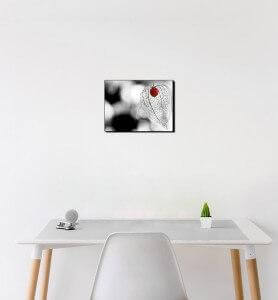 Petit Tableau Amour-en-cage monochrome