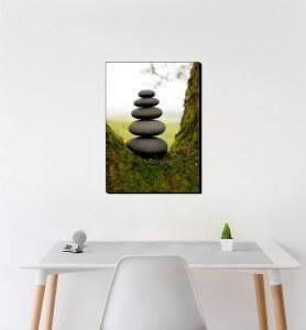 Moyen Tableau Zen par Nature