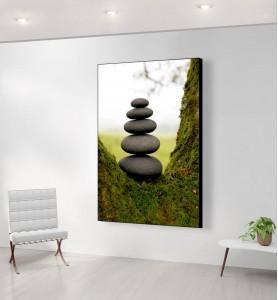 Grand Tableau Zen par Nature