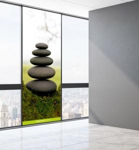 Vitrophanie Zen par Nature