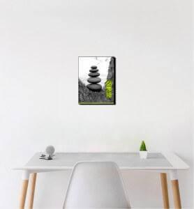 Petit Tableau Zen par Nature monochrome
