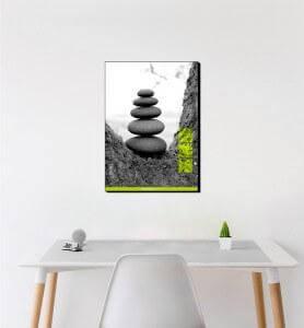 Moyen Tableau Zen par Nature monochrome