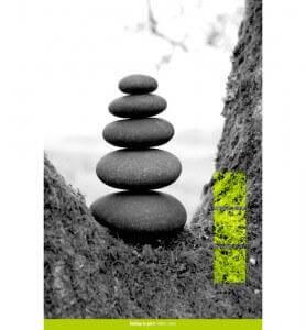 Tableau Zen par Nature monochrome