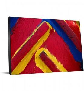 Peinture contemporaine en décoration