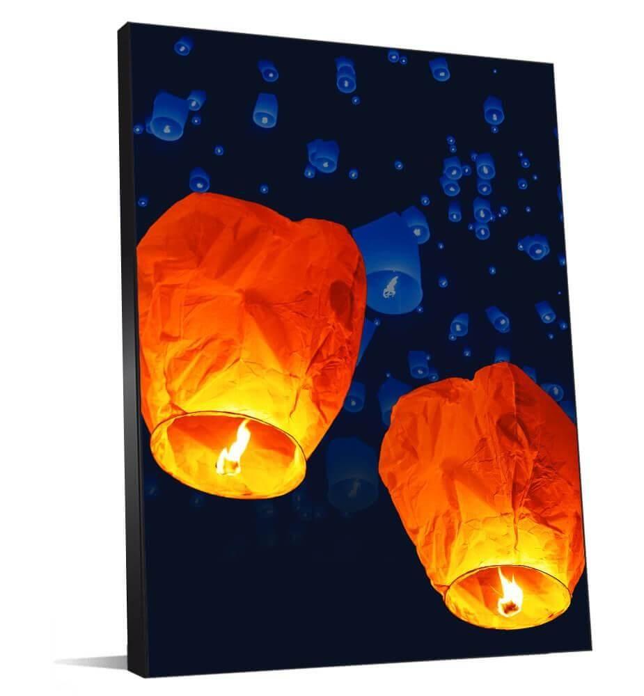 lampions décoration d'entreprise