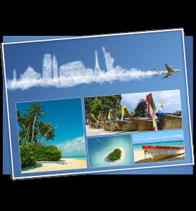 Ecard congés Voyage