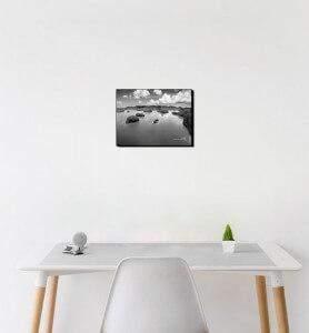 Petit Tableau décoration Archipel noir et blanc