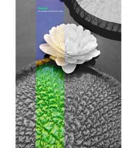 Grand Tableau décoration Fleur de nénuphar noir et blanc