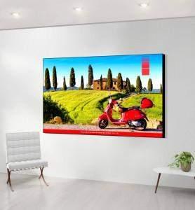 Grand Tableau décoration Vespa en Toscane