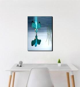 Moyen Tableau Plongeon du Martin pêcheur