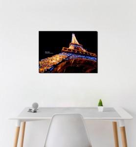 Moyen Tableau décoration Eiffel effect