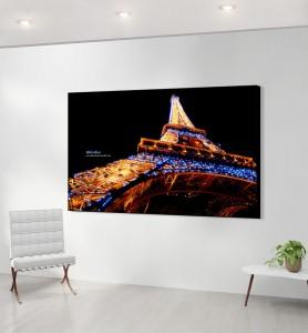 Grand Tableau décoration Eiffel effect