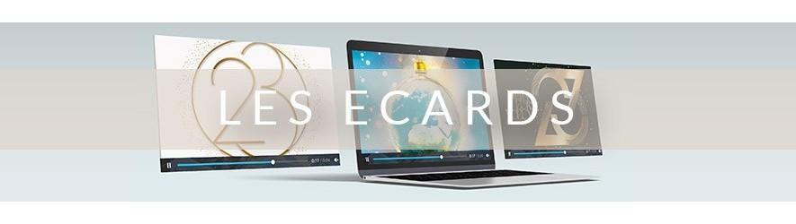 Carte de voeux virtuelle entreprise, Ecard animée 2020