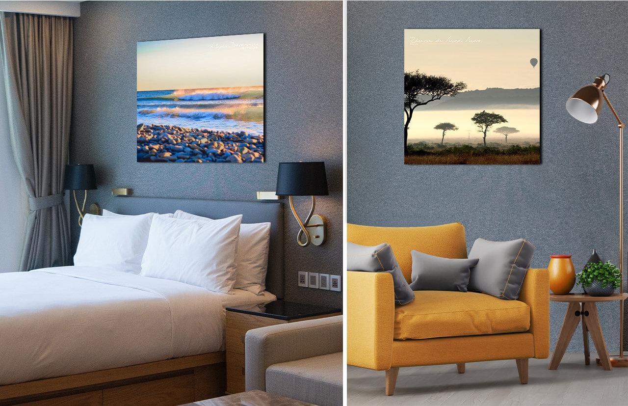 décoration chambre hôtel