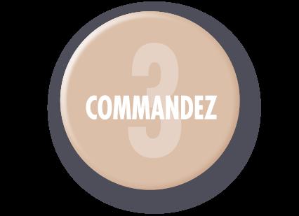 Commande express en 3 clics