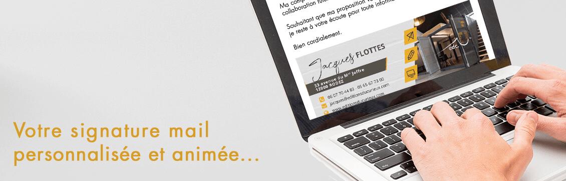 Soignez et dynamisez la signature de vos mails