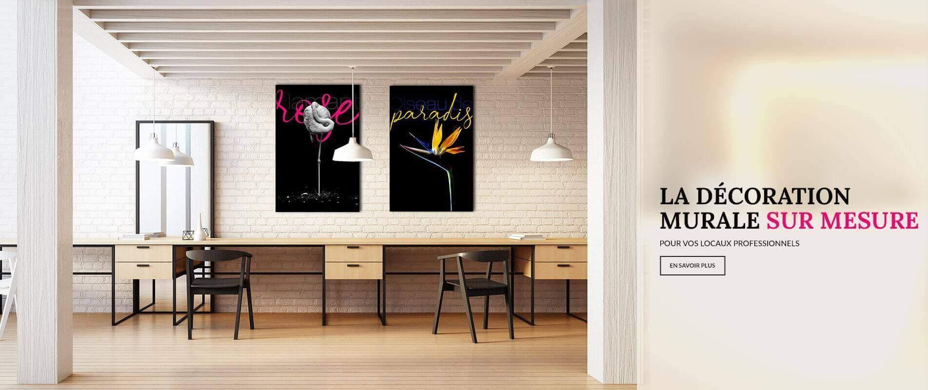 Soignez la déco de vos espaces bureaux et open space